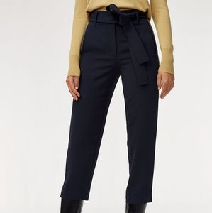 Aritzia Wilfred Jallade Crepe High Waisted Pants